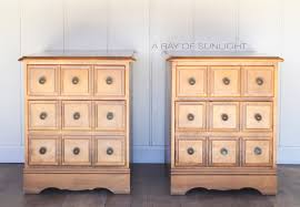 apothecary style nightstands in liquorice a ray of sunlight