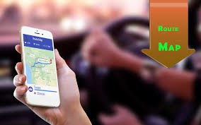 Map A Driving Route by Share Location Driving Route Gps Navigation Android Apps On