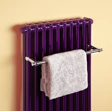 Small Heated Towel Rails For Bathrooms Classic Towel Radiator In Dark Purple Featuring The Latest Classic