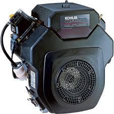 kohler command v twin ohv horizontal engine with electric start
