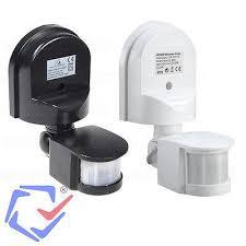 long range motion detector light external wall movement detector surface mounted motion sensor