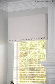 Foam Board Window Valance Easy And Light Cornice Boards From Foam Board Window Treatments