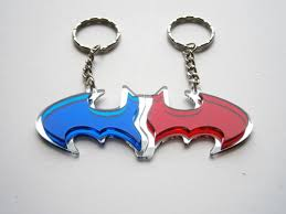 unique keychain best friends batman keychain friendship keychains unique