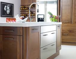kitchen awesome kitchen cabinet color schemes modern walnut and