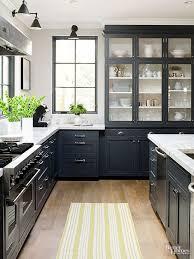 modern farmhouse kitchen black cabinets 25 beautiful country kitchens to copy asap kitchen design
