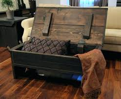 Trunk Style Coffee Table Trunk Style Coffee Table Wooden Trunk Coffee Table Plans