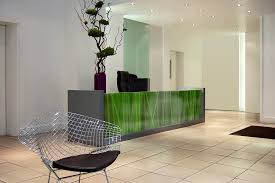 Glass Reception Desk Zoom Digital Darkroom
