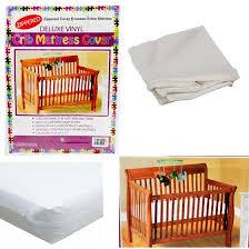 Vinyl Crib Mattress Crib Size Zippered Mattress Cover Vinyl Toddler Bed Allergy Dust