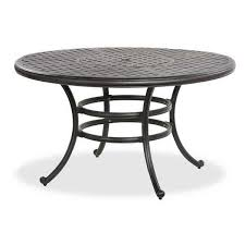 Cast Aluminum Patio Tables 52 Castle Rock Cast Aluminum Patio Table Ld10 A By