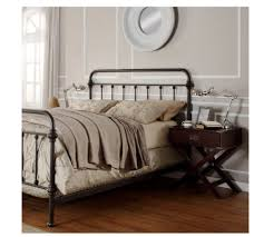 rod iron bed frame vnproweb decoration