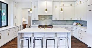 white kitchen island with stools 200 beautiful white kitchen design ideas that never goes out of