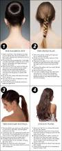 four date night pretty hairstyles including the plait ponytail