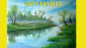 landscape paintings soft pastels paintings soft pastel