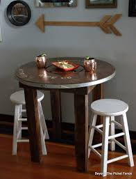 Wire Spool Table Beyond The Picket Fence Rustic Industrial Spool Table