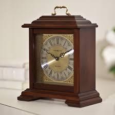 clocks curved top wooden frame mantel clocks for home decoration