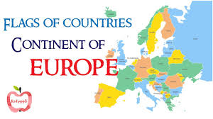 Flags Of European Countries Flags Of Countries Continent Of Europe Youtube