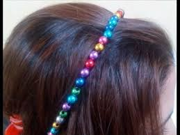 diy crafts how to make beaded hair accessories tutorial