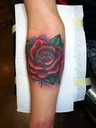 david meek tattoos illustrative custom color forearm