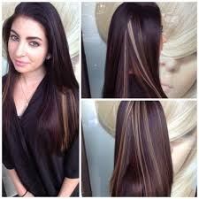 hair styles brown on botton and blond on top pictures of it 30 vibrant peek a boo highlights ideas try them out