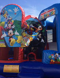 mickey mouse clubhouse bounce house karinas jumpers bounce house combos