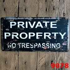 online get cheap private property signs aliexpress com alibaba