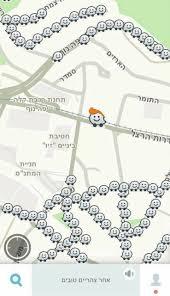 Waze Map Waze In Jerusalem Today Israel