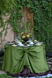 forest green table linens 141 best green wedding decorations images on pinterest event decor