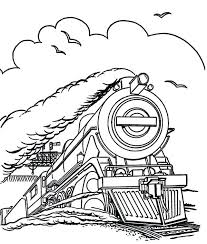 coloring page train car coloring page train steam train run in speed coloring page train
