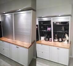 Kitchen Appliance Lift - garage door awesome appliance garage door corner appliance