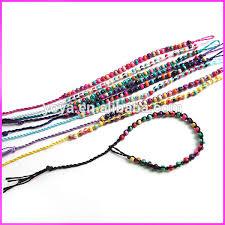 macrame bead bracelet images Fl0893 fashion small wood beads macrame bracelet cheap braided jpg