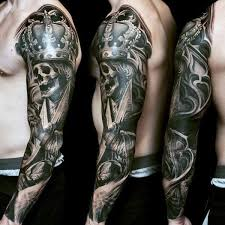 29 best tribal skull sleeve tattoo for men images on pinterest