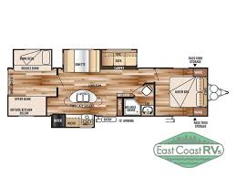 Rear Kitchen Rv Floor Plans by New 2015 Forest River Rv Wildwood 31bkis Travel Trailer At East