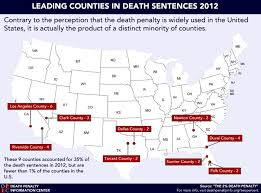 map usa penalty new report from dpic penalty information center