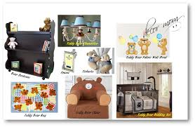 teddy bear nursery theme baby bedding pooh kids bedroom ideas