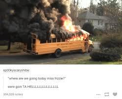 School Bus Meme - arnold the magic school bus know your meme