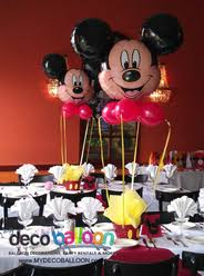 mickey mouse centerpieces balloon decorations balloon decorations in new jersey balloon