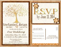 Wedding Invitation Card Maker New Custom Wedding Invitation Now Posted On Etsy U2013 Fall Tree