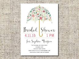custom bridal shower invitations flower umbrella bridal shower invitation printable bridal shower