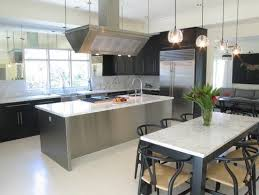 stainless steel island for kitchen top attractive stainless steel kitchen islands for house prepare