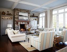 Get East Coast Decorating Ideas And Go Inside A Charming New - Sarah richardson family room
