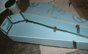 how to make a coffin blue s home made coffin