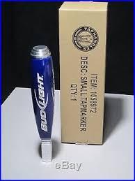 bud light beer tap handle bud light iconic small tap handle beer bar pub keg budweiser short