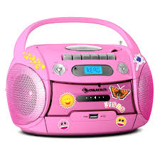 cd player kinderzimmer cd player kinder con cassette mp3 cd usb radio boombox stereo