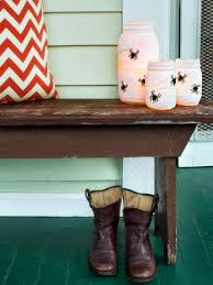 outside halloween crafts halloween front porch decorating ideas hgtv u0027s decorating