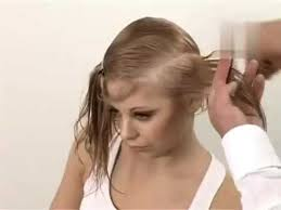 best hairstyle for women with thinning crown bob haircut short nape haircut for thin hair youtube