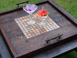 simple but functional ottoman tray large editeestrela design