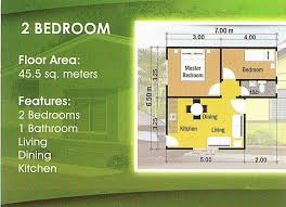 Philippine House Designs And Floor Plans For Small Houses 2 Bedroom Home Design Home Design Ideas