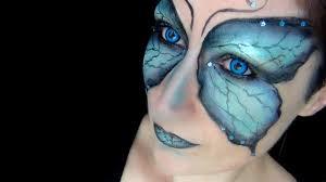 butterfly fairy makeup tutorial halloween 2013 lentilles de