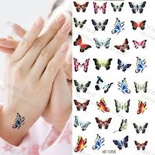 butterflies designs for wrist expressions of