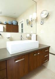 Bathroom Wall Mounted Mirrors Bathroom Magnifying Mirror Engem Me